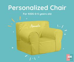 Personalized Foam Chair