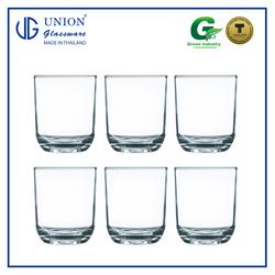 UNION GLASS Thailand Premium Clear Glass 221ml Set of 6