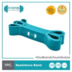 FITSPIRE Premium Resistance Band Latex 208 x 45 x 2.9 cm Exercise Fitness Home Gym Workout Equipment Yoga Amazing Gift Idea For Any Occasion!