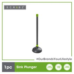 SCRUBZ Premium Sink Plunger Cleaning Material 13.5 x 13.5 x 50 cm Made of PVA