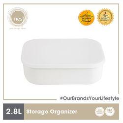 NEST DESIGN LAB Premium Durable Storage Organizer 2.8 L 26 x 18 x 8 cm Amazing Gift Idea For Any Occasion!