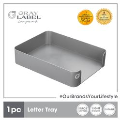 GRAY LABEL Premium Letter Tray Organizer High Impact Polystyrene Plastic 31.5 x 24 x 7 cm Amazing Stationery Supplies For Office
