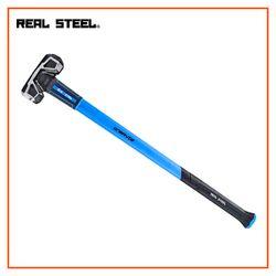 REALSTEEL Sledge Hammer Jacketed Graphite, Cross Striking Head Premium  8-Pound, 3.60 Kg