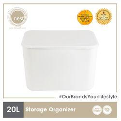 NEST DESIGN LAB Premium Durable Storage Organizer 20 L 36 x 26 x 24.3 cm Amazing Gift Idea For Any Occasion!