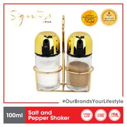 Signature by Slique Premium Gold Salt & Pepper Shaker 100 ml
