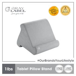 GRAY LABEL Premium Tablet Pillow Stand Memory Foam 27 x 24 x 20.5 cm Amazing Stationery Supplies For Office