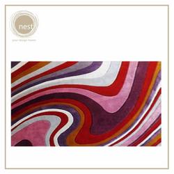 NEST DESIGN LAB Swirl Stripes Carpet