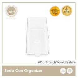 NEST DESIGN LAB Premium Durable Soda Can Refrigerator Organizer 35 x 14 x 10 cm Amazing Gift Idea For Any Occasion!