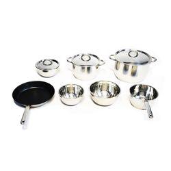 OSH 10 Piece Stainless Cookware Set