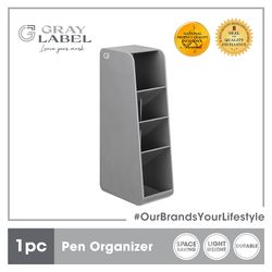 GRAY LABEL Premium Pen Holder High Impact Polystyrene Plastic Amazing Stationery Supplies For Office