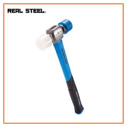 REALSTEEL Double Face Mallet Jacketed Graphite 12oz - 340g