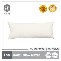 PRIMEO Premium Body Pillow Cover Standard Size 100% Cotton