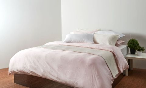 Canopy Luxe Berry 4pc Duvet Cover Set Queen