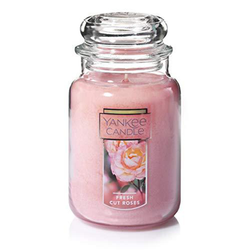 Yankee Candle CLASSIC JAR LARGE FRESH CUT ROSES
