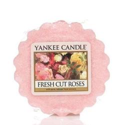 Yankee Candle SCENTED TART WAX FRESH CUT ROSES