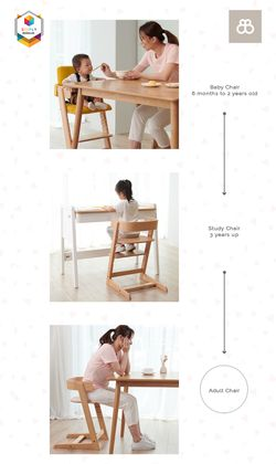 Boori Adjustable Tidy Chair (Seat Cushion included)