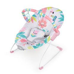 Bright Starts Flamingo Vibes Vibrating Bouncer