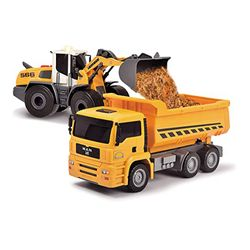 Dickie Toys Construction Twin Pack