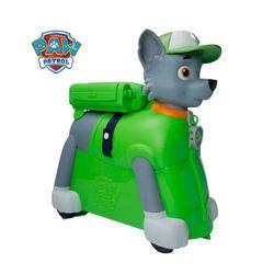 Paw Patrol Rocky Ride-On Suitcase