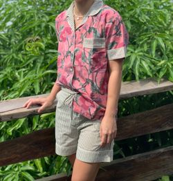 The57.ph Hand Block Print Polo and Shorts Lounge Set - PS-3