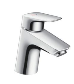 Hansgrohe logis Basin mixer 70 CoolStart with pull rod waste set 71072.000