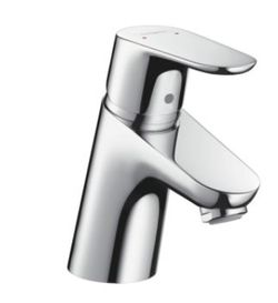 Hansgrohe Focus Basin mixer 70 with pull rod waste set 31730.000