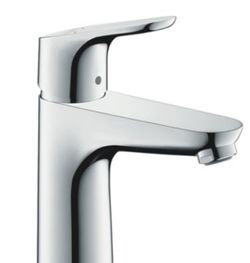 Hansgrohe Focus Basin mixer 100 with pull rod waste set 31607.000