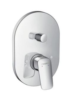 Hansgrohe Logis Built-in bath/shower mixer with 31741.180 basic set 71406.000
