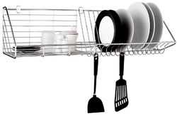 VRH Dish Rack with Hooks Wall Mount W106D1