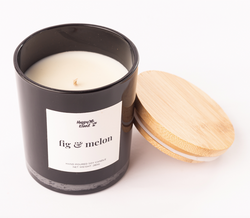 Happy Island Fig & Melon  Soy Candle