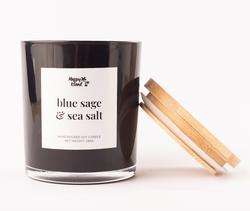 Happy Island Blue Sage & Sea Salt Soy Candle