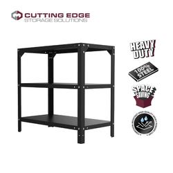 Cutting Edge Marvin 31-inch 3 Layer Metal Rack 61 cm x 26 cm x 81 cm