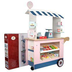 Wooden Convenience Cart