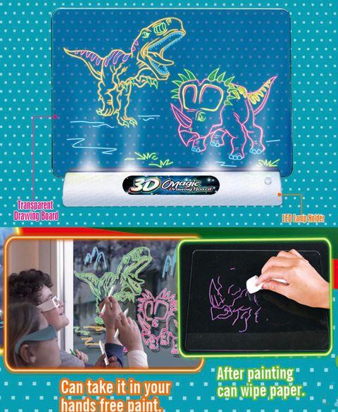 3D Magic Drawing Board Dinosaur