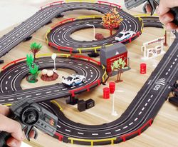 Simulated City Police Track for Kids
