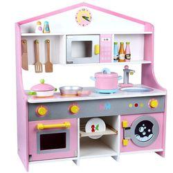 Wooden Japanase Pink Kitchen