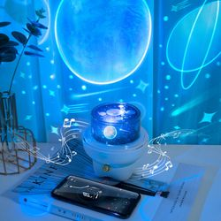Dreamy Light Projector with Remote Control (Bluetooth Speaker)