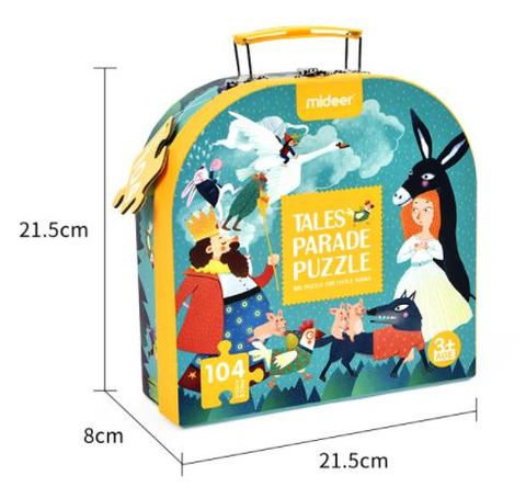 Mideer Easy to Carry - Tale Parade Puzzle