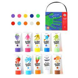 Joan Miro Finger Paint 10 Colors Set
