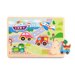 Tooky Toy Sound Puzzle - Vehicle