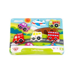 Tooky Toy Chunky Puzzle - Transportation