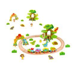 Tooky Toy Dinosaur Train Set-Medium