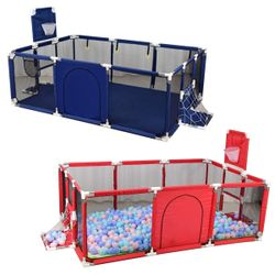 Big Sized Baby Play Fence Kids Activity Area