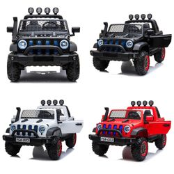 2 Seater Rechargeable Big Jeep YSA-023 Ride-on Toy Car