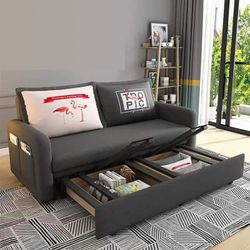 Simple Modern 3 in 1 Multifunctional Convertible Sofa Bed 120 x 190 cm