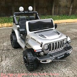 Rechargeable Jeep Rubicon Supercar Ride-on Toy Car