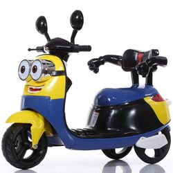 Rechargeable Minion Character Ride-on Motor