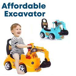 Affordable Backhoe Excavator Manual Twist Car Toy