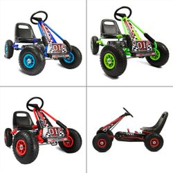 A15 Racing Pedal Type Ride-on Go Kart Toy for Kids