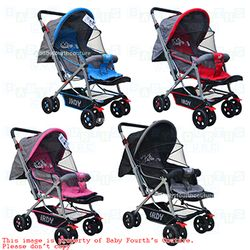 Irdy 829A 3 way Stroller for Baby with Reversible Handle FREE Mosquito Net